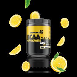 BCAA 2:1:1 + Glutamin 600gr - Limon