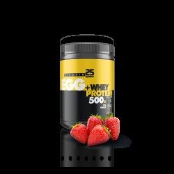 Egg + Whey Protein Tozu 500gr Çilek